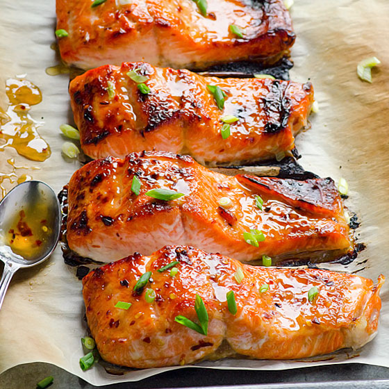 Thai Salmon - Ifoodreal - Healthy Family Recipes