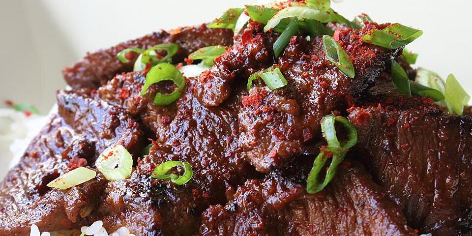 Beef Short Ribs: Bulgogi Korean-Style Barbecue
