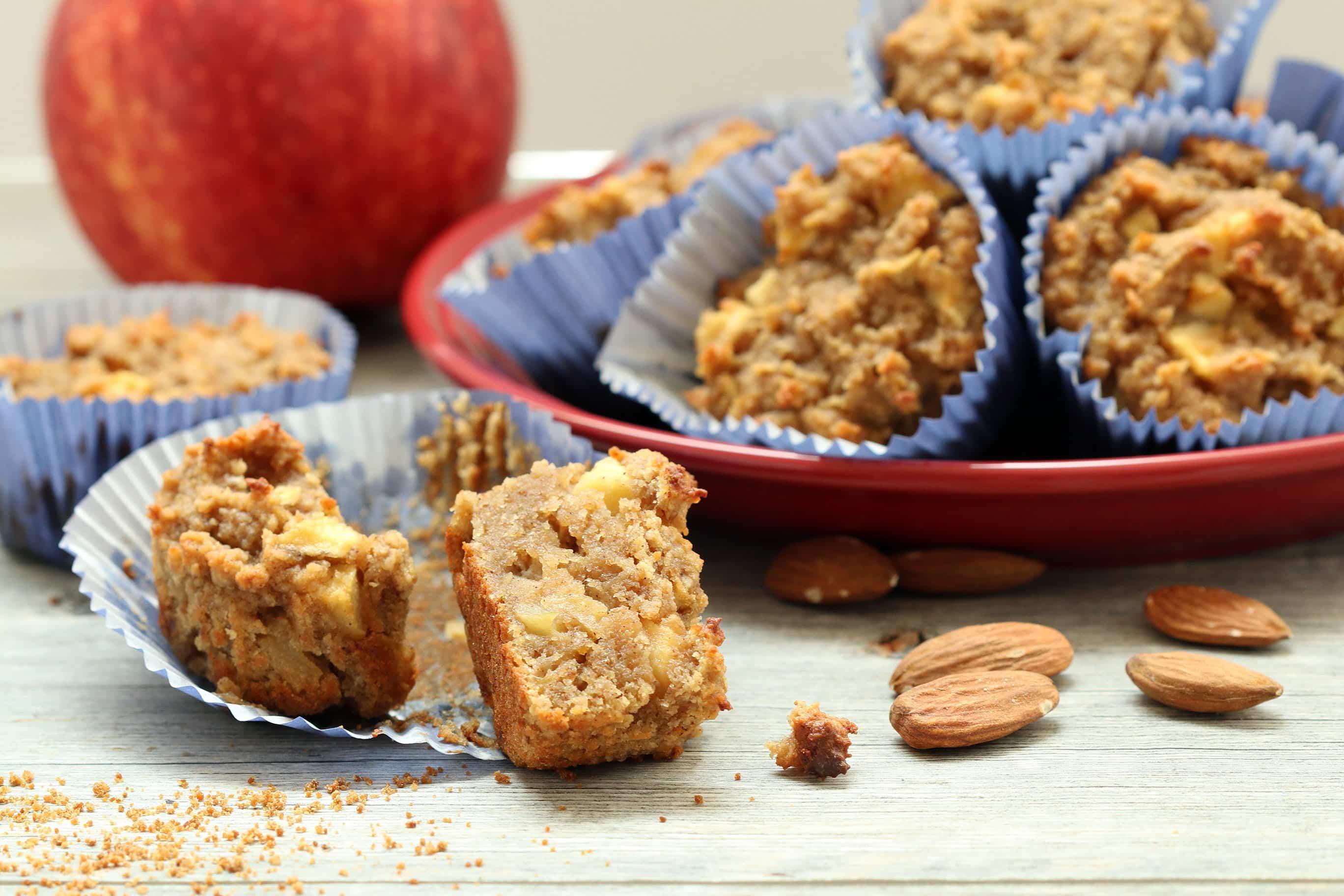 Apple Cake Muffins (Gluten-Free)