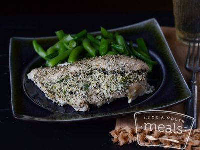 Parmesan Herb Stuffed Chicken | Once A Month Meals