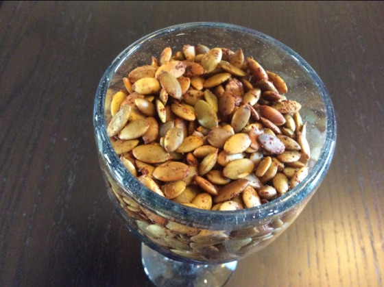 Roasted Worcestershire Raw Organic Pumpkin Seeds