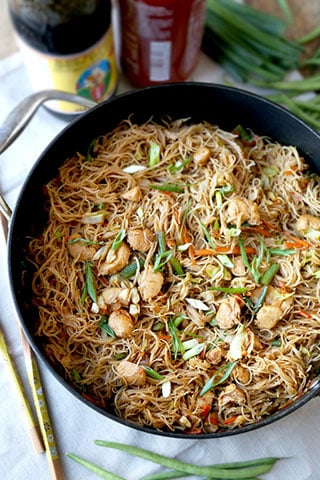 Easy Bihon Pancit - Here's How To Make It   Pickled Plum   Easy Asian Recipes