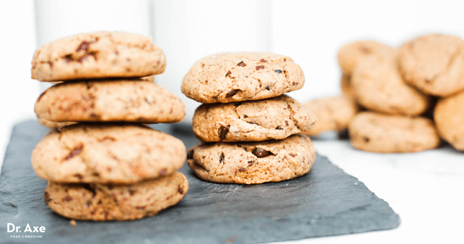 Dr axe Gluten Free, Dairy Free Almond Cookie