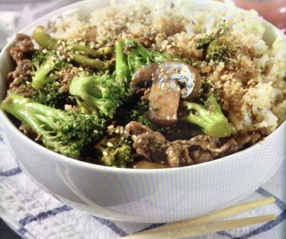 Veggie & Beef Salad Bowl