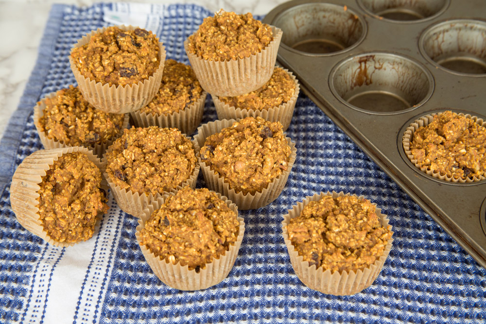 Plant Based Pumpkin Spice Muffins