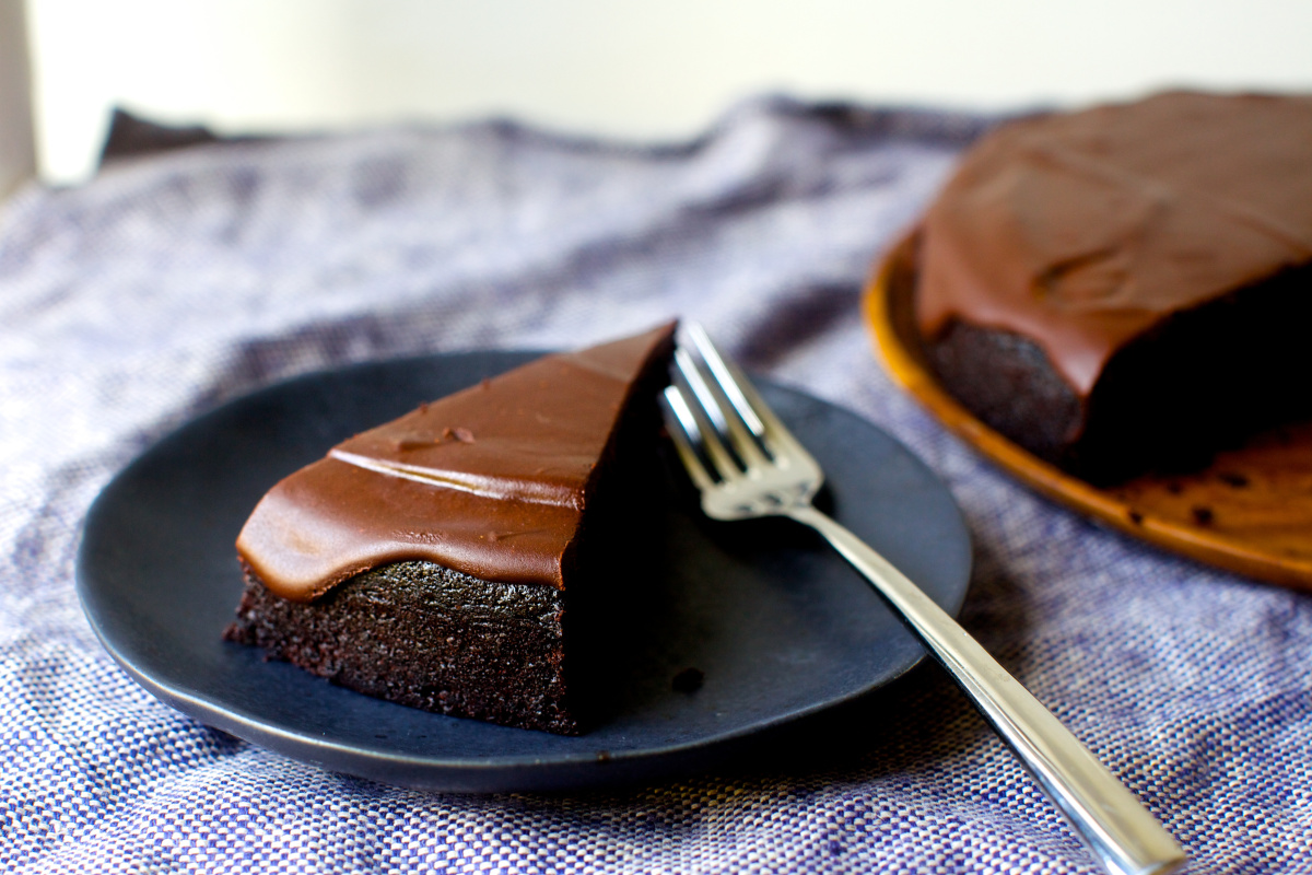 Chocolate Olive Oil Cake + More Book Tour!