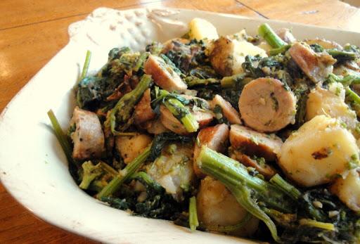Sausage, Broccoli Rabe & Potatoes