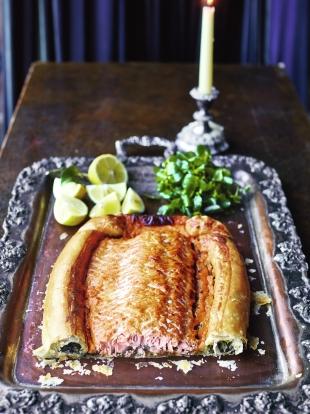 Salmon en croûte recipe | Jamie Oliver salmon recipes