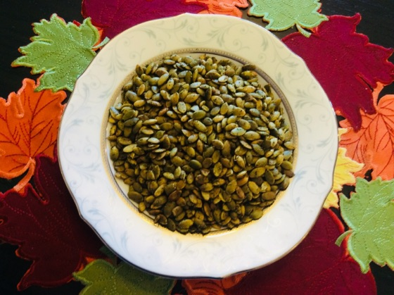 Roasted Raw Organic Pumpkin Seeds