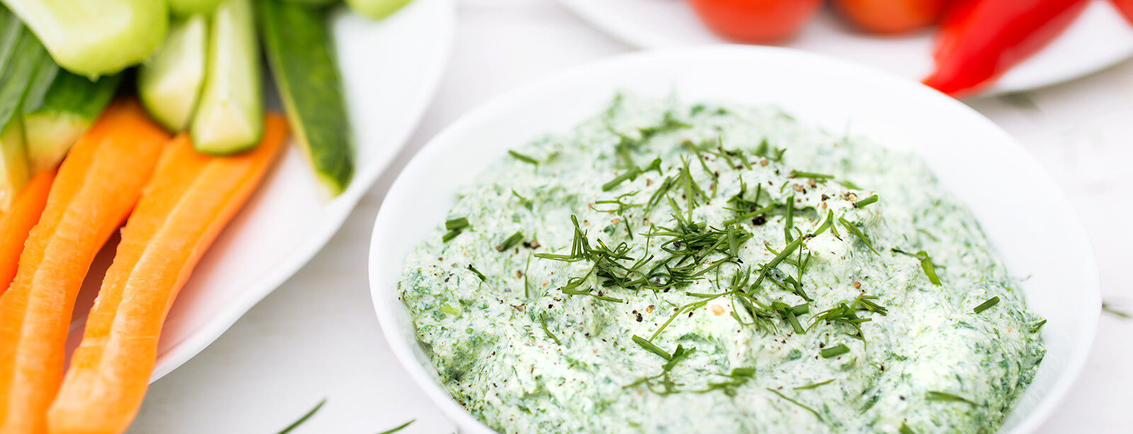 Spinach Ranch Dip (Oil Free)