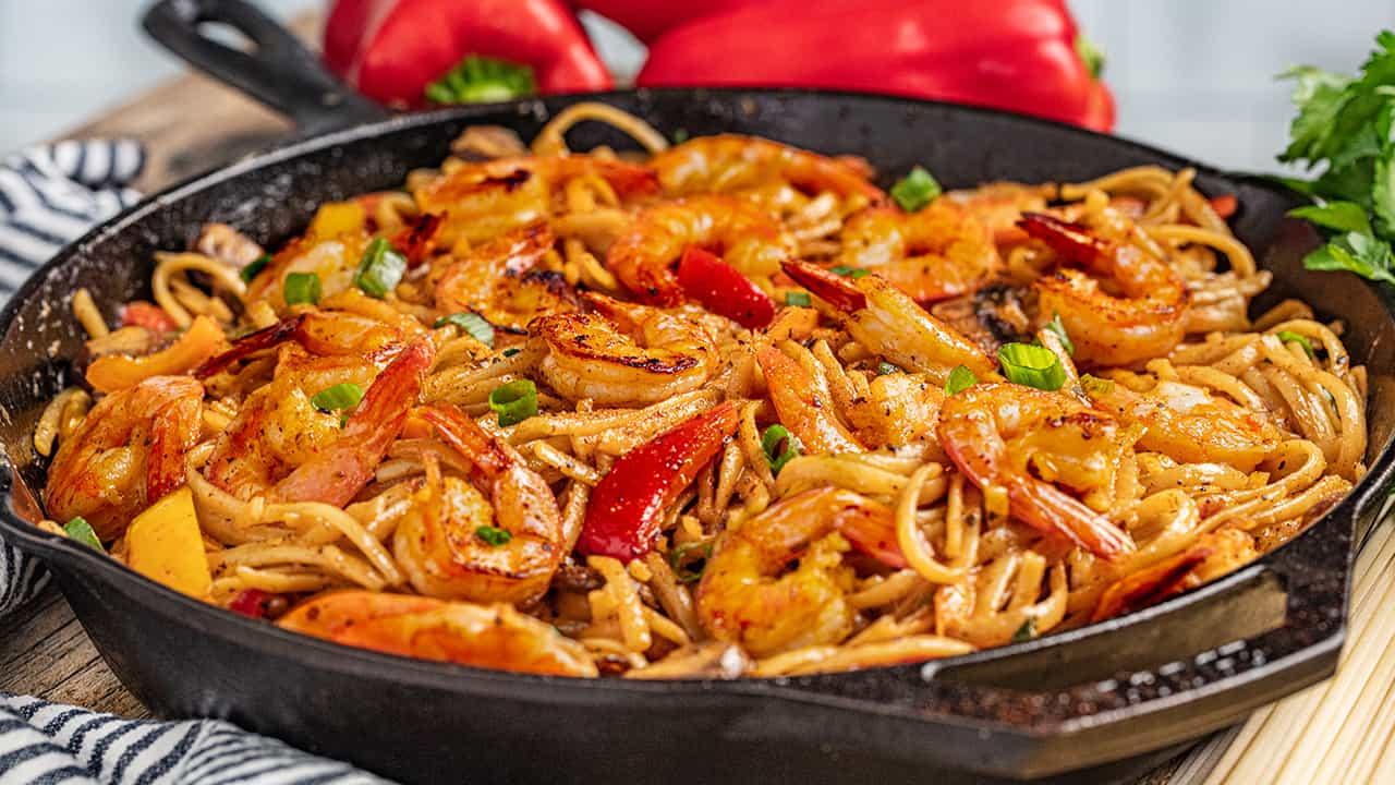 Shrimp: Creamy Cajun Shrimp Pasta
