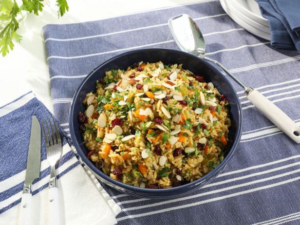 Rainbow Rice Pilaf