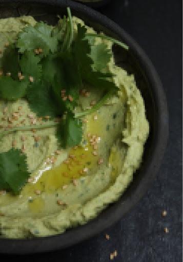 Avocado Hummus With Lemon